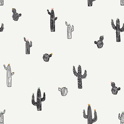 Pacha - Cactus Stamps White $28 pm