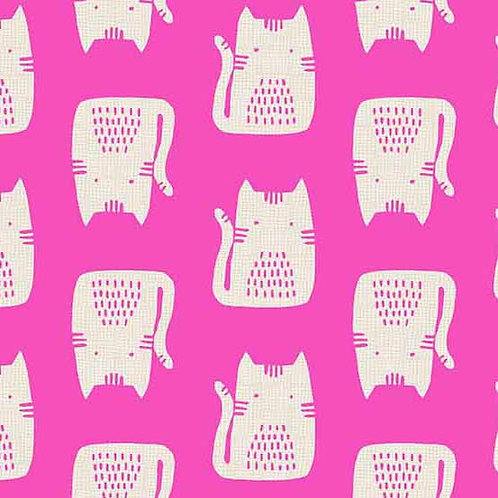Cats & Dogs - Cats Pink $26 pm