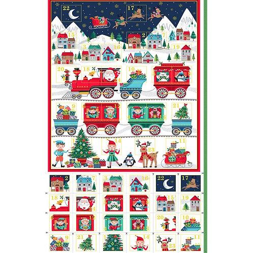 Santa Express Advent Calendar Panel
