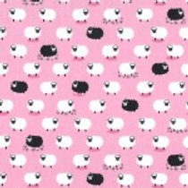 Counting Sheep - Following Ewe Pink $28 pm