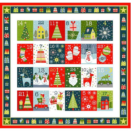 Joy Advent Calendar Panel