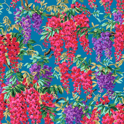 Kaffe Fassett Collective - Wisteria Teal $30 pm