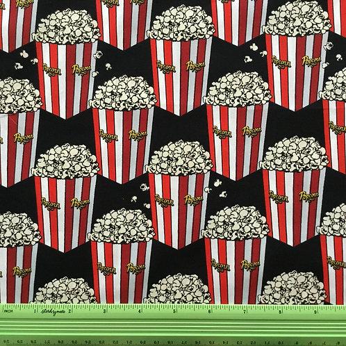 Buckets of Popcorn - Black $30 pm