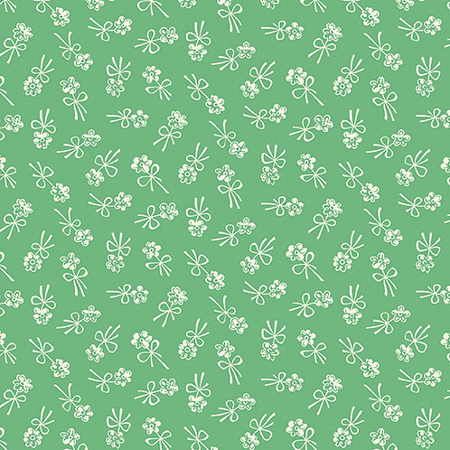 Darling Clementine - Blossom Bows Green $28 pm