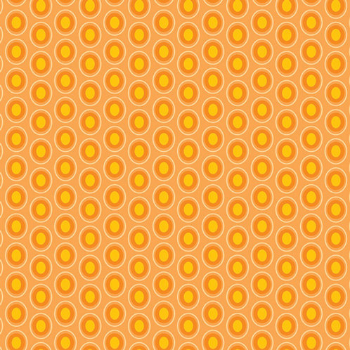 Oval Elements - Papaya Orange $28 pm