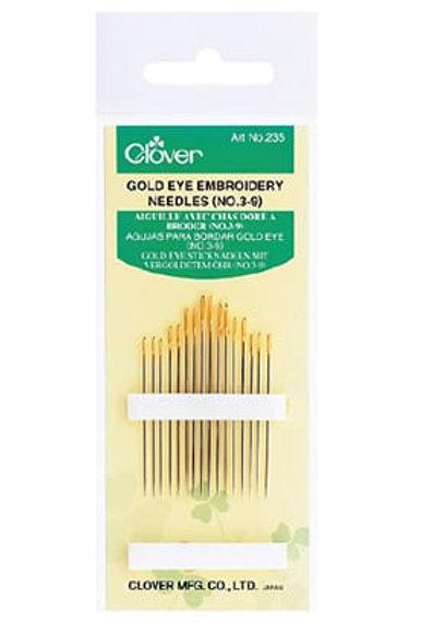 Clover Golden Eye Embroidery Needles