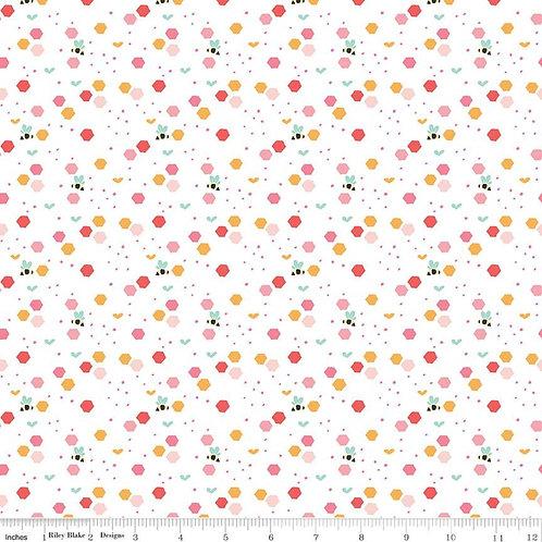Strawberry Honey - Beehive White $30 pm