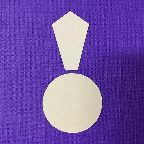 "EPP 1"" x 12 Petal Crysanthemum Papers - 6 Blocks"