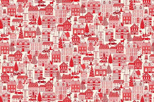 Scandi - Houses Red $28 pm