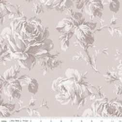 Rose Garden - Floral Taupe Wideback $35 pm
