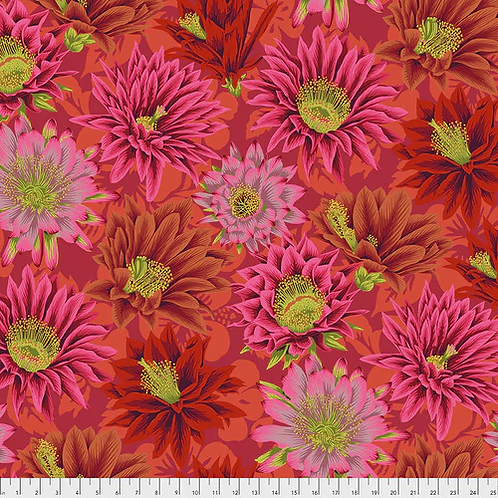Kaffe Fassett Collective - Cactus Flower Red $30 pm