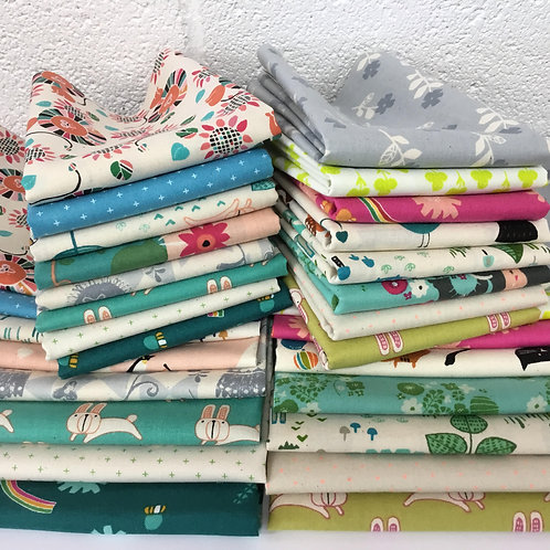 SALE - Cotton & Steel Kids 8 x Fat Quarter Lucky Dip Bundle
