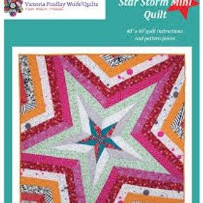 Star Storm Mini Quilt Pattern