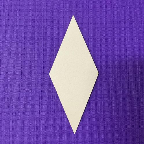 """EPP 1 1/4"""" 8 Pointed Diamond Papers - 10 Blocks"""