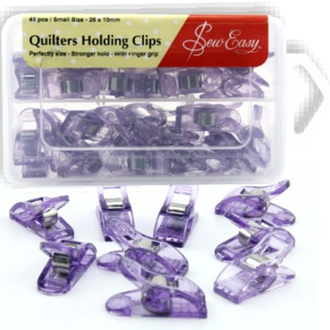 Quilters Holding Clips - 45pk