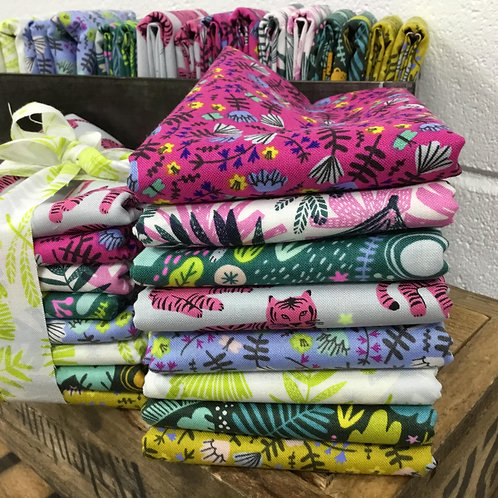 Wild and Free  8 x Fat Quarter Bundle