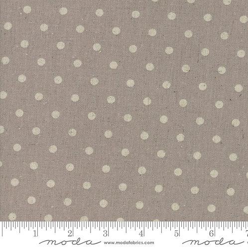 Cotton/Linen Mochi Dot - Putty $30 pm