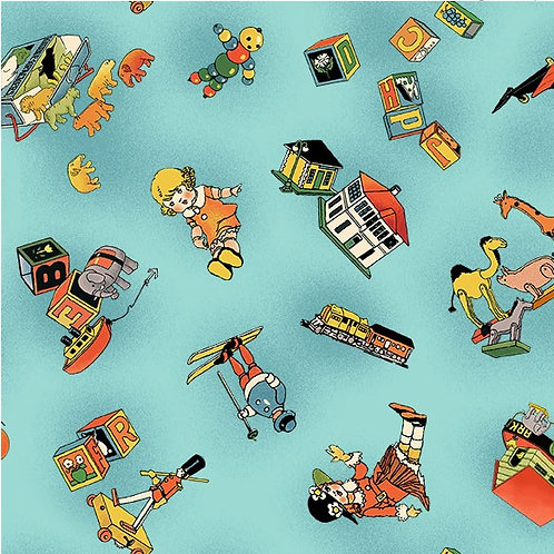 Vintage Treasures - Toy Story Blue $30 pm
