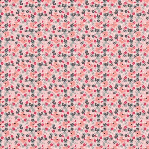Abbie's Garden - Floral Pink $28 pm