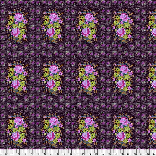 Hindsight - Stitched Bouquet Eggplant $28 pm