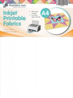 Inkjet Printable Fabric A4