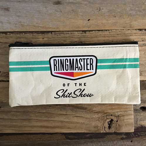 Blue Q Pencil Case - Ringmaster