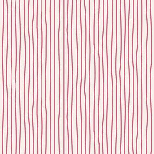Tilda Classic Basics - Pen Stripe Pink $30 pm