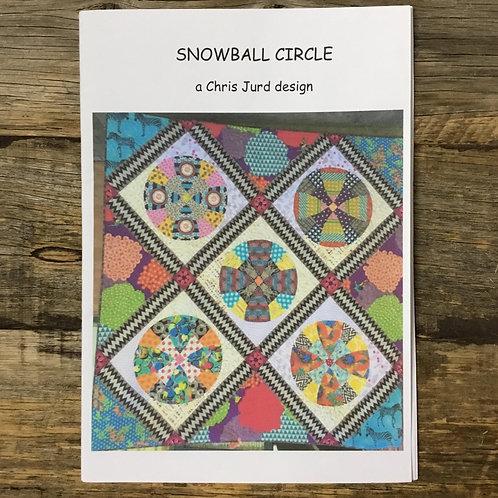 Snowball Circle Quilt Pattern