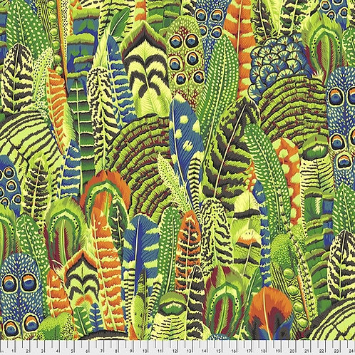 Kaffe Fassett Collective - Feathers Lime $30pm