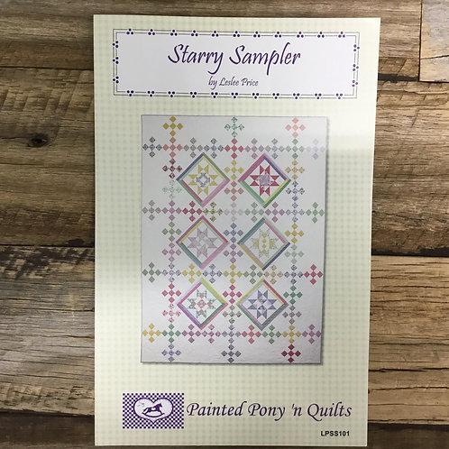 Starry Sampler Quilt Pattern