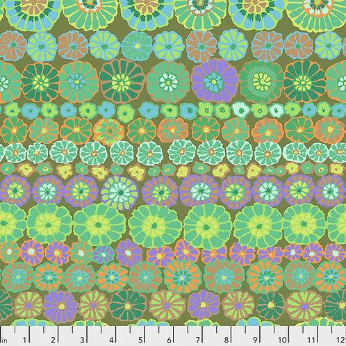 Kaffe Fassett Fall 2018 - Row Flowers Green $28 pm