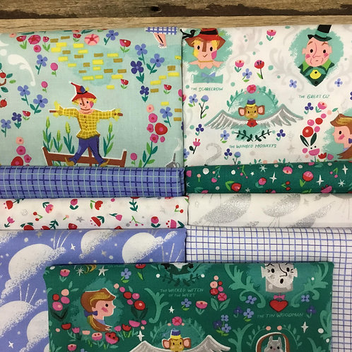 Dorothy's Journey 9 x Fat Quarter Bundle