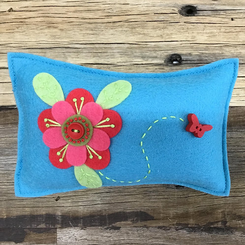 Lickety Split Pin Cushion Kit - Blue