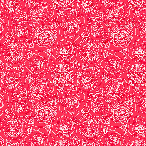 Mosaic - Roses Outline $26 pm
