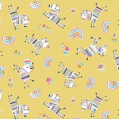 Rainbow Friends - Zebras Yellow $30 pm