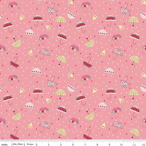 Singing In The Rain - Umbrellas Pink $28 pm