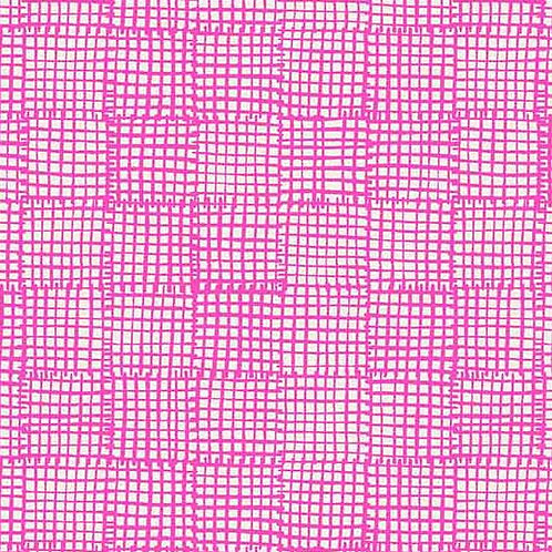 Cats & Dogs - Grid Pink $26 pm
