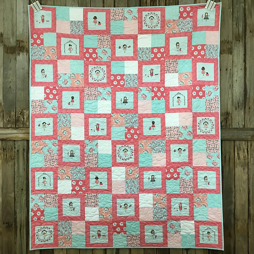 Abbie's Garden Quilt Kit