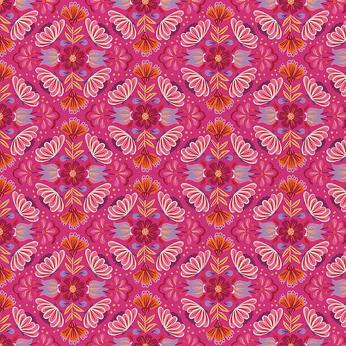 Viva Mexico - Small Floral Pink $30 pm