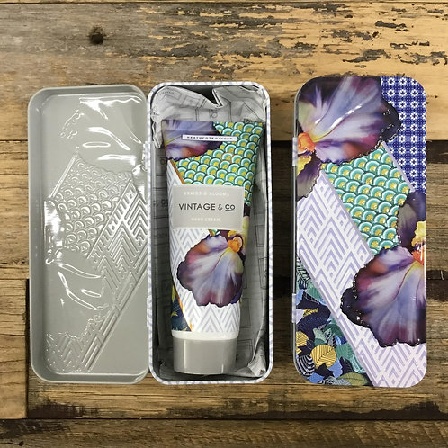 Vintage & Co Braids & Blooms Hand Cream and Tin