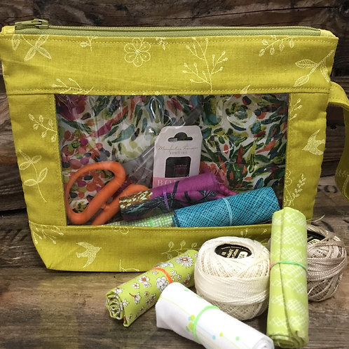 What's In Your Bag Kit - Chartreuse