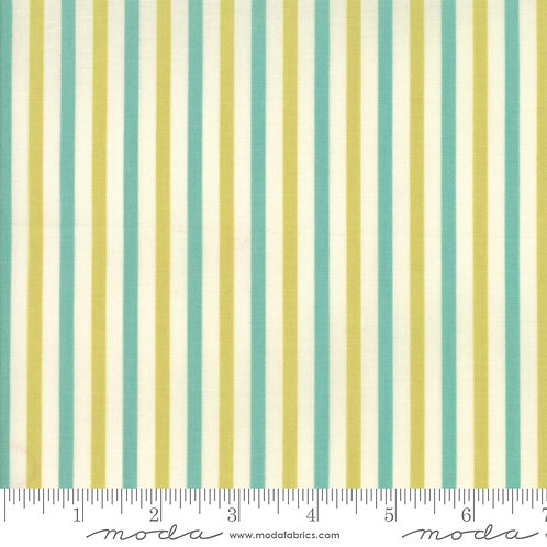 Essential Stripe - Chartreuse/Teal $26 pm