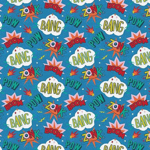 Super Dinos - Comical Cool Blue $30 pm