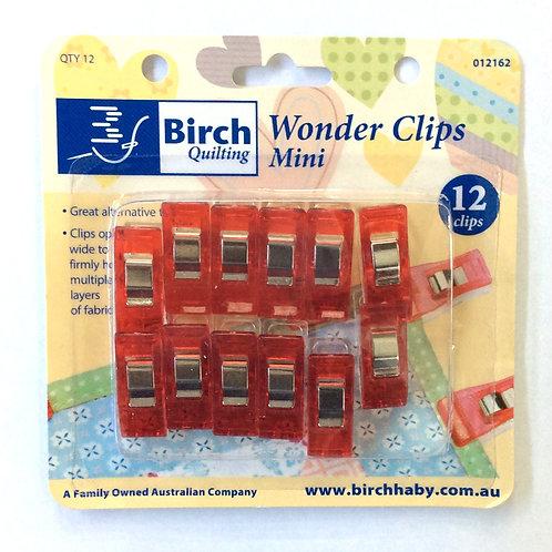 Birch Wonder Clips 12pk
