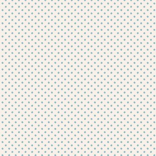 Tilda Classic Basics - Tiny Dots Light Blue $30 pm