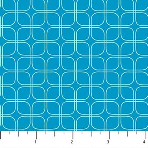 Midsommar - Geometric Teal $28 pm