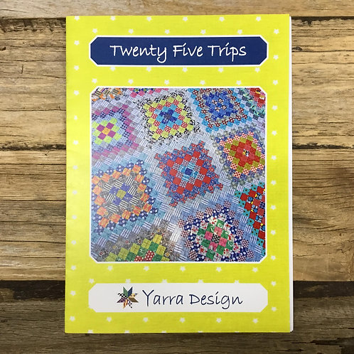 Twenty Five Trips Quilt Pattern