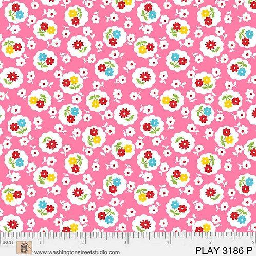 Playtime - Posies Pink $28 pm