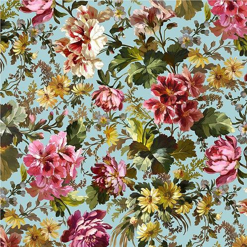 Victoria's Garden - Splendid Bouquet Blue  $30 pm