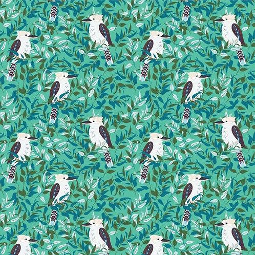 Kookaburra Calling - Calypso Green $30 pm